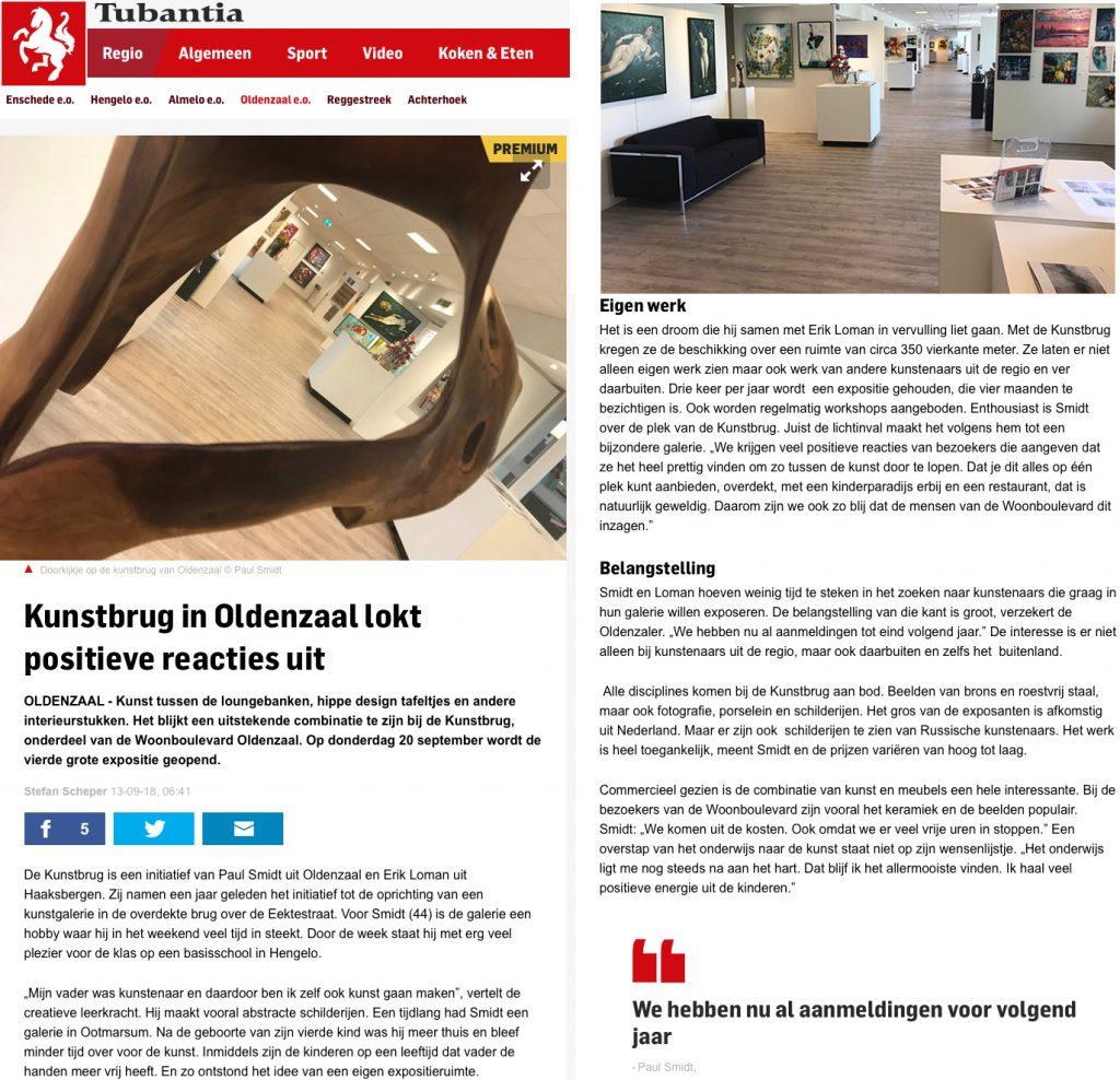 artikel in Tubantia