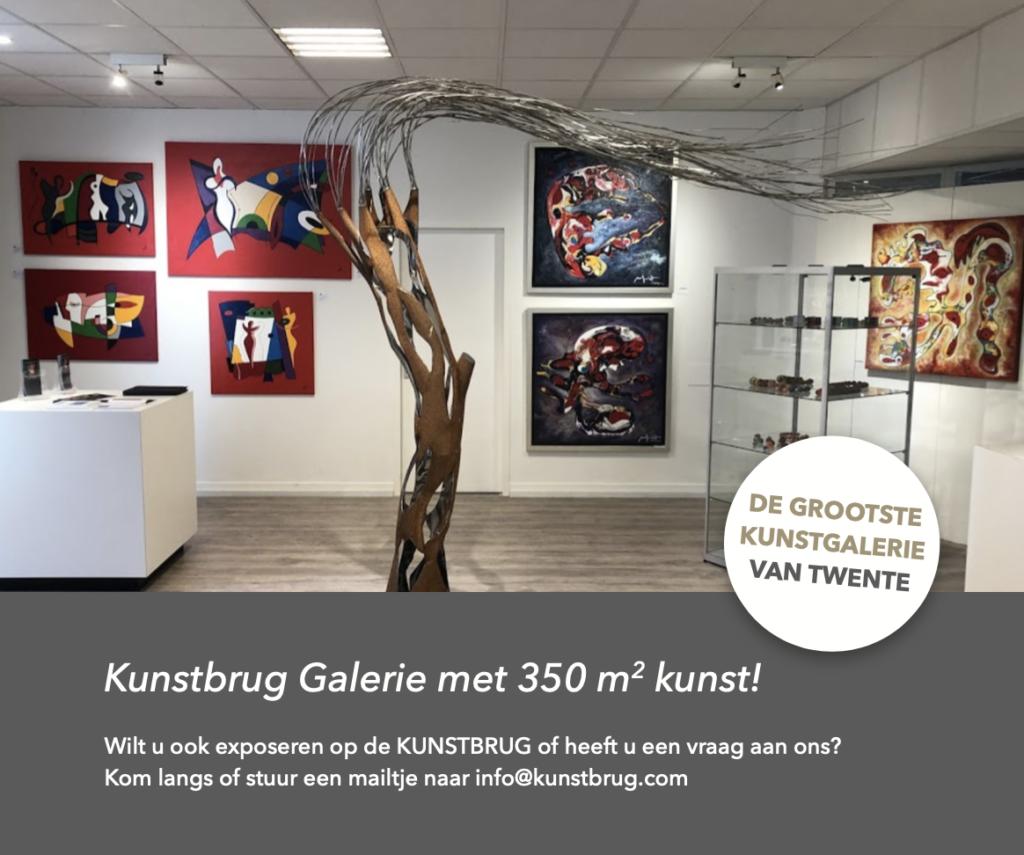 Kunstbrug grootste galerie Twente